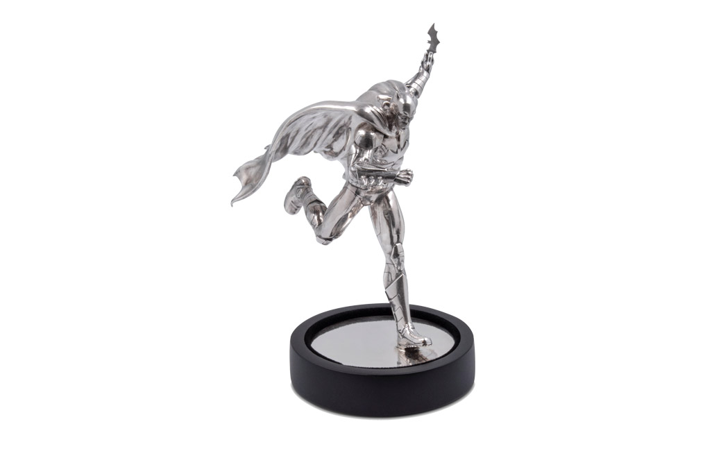 Buy 235g Sterling Silver Batman Miniature - 80th Anniversary, image 0