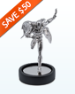 235 g Sterling Silver Miniature- Batman 80th Anniversary