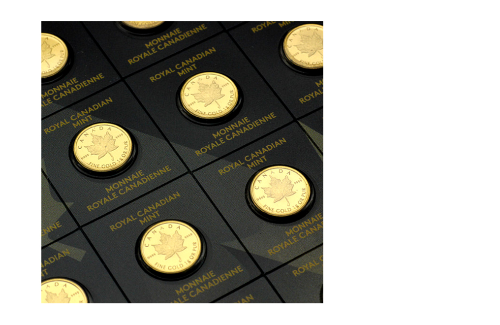 Buy 25 x 1 gram Gold MapleGram25™ (Random Year), image 5