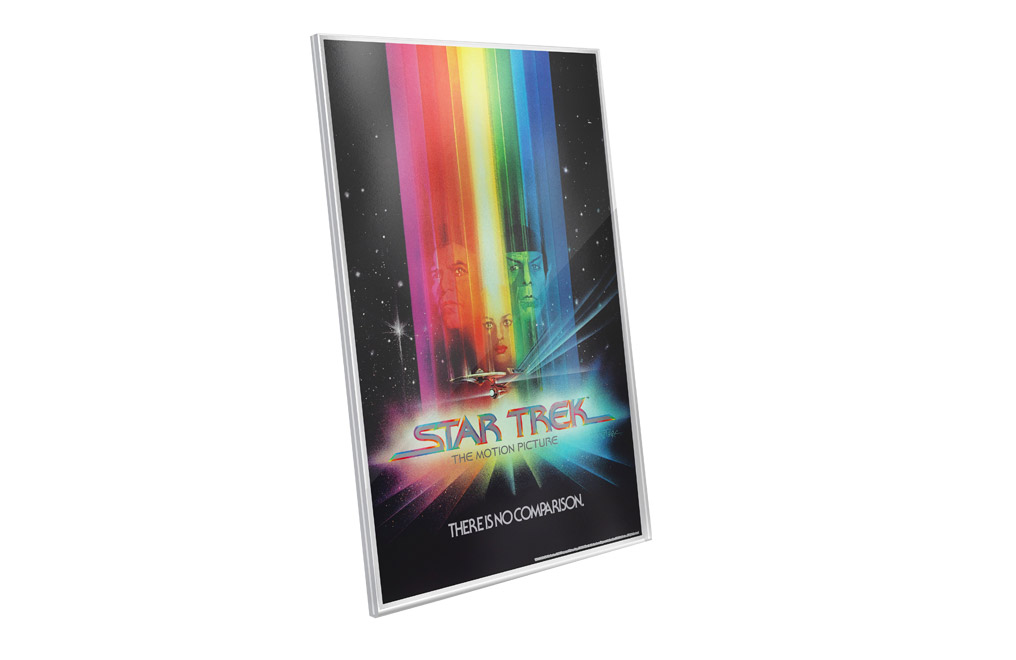 Buy 35 g Pure Silver Foil .999 - Star Trek : The Motion Picture, image 2