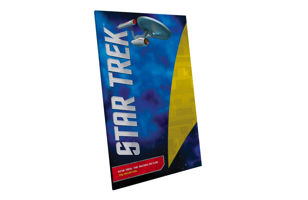 Buy 35 g Pure Silver Foil .999 - Star Trek : The Motion Picture, image 3