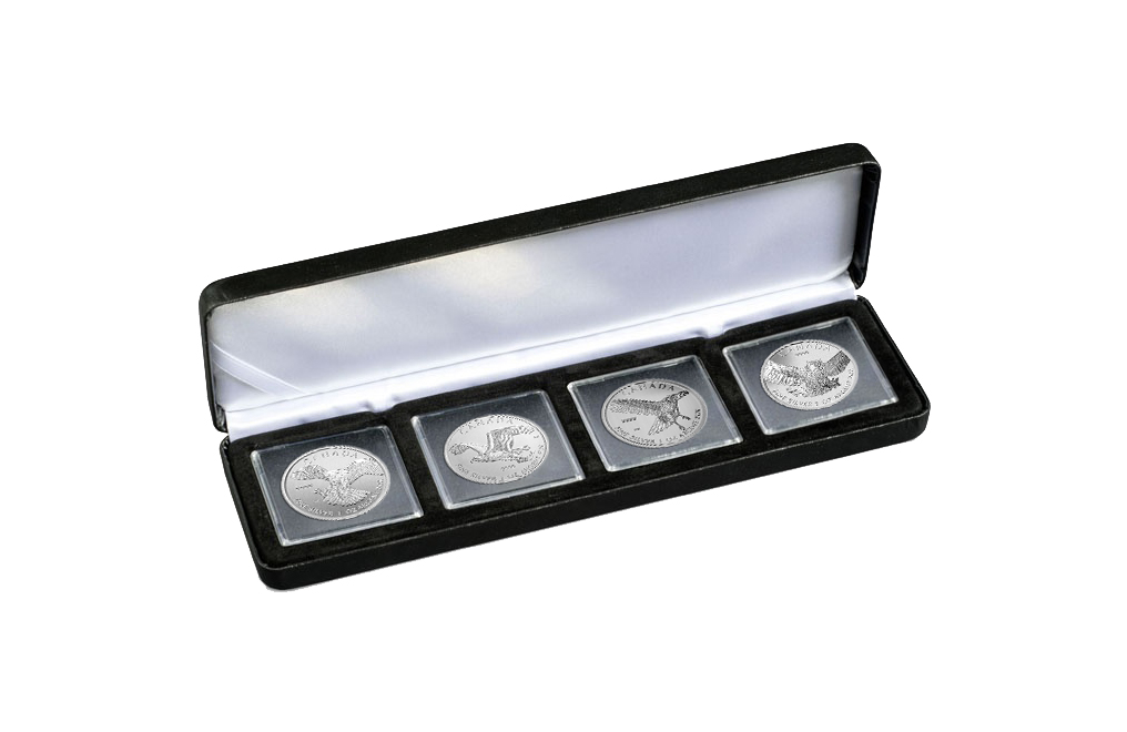 Buy Silver Canadian Birds of Prey Coins (all 4), image 0