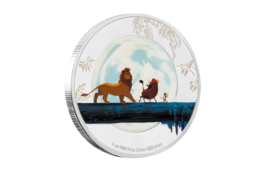 Buy 4 x 1 oz Silver Coin Set .999 - Disney - The Lion King, image 3