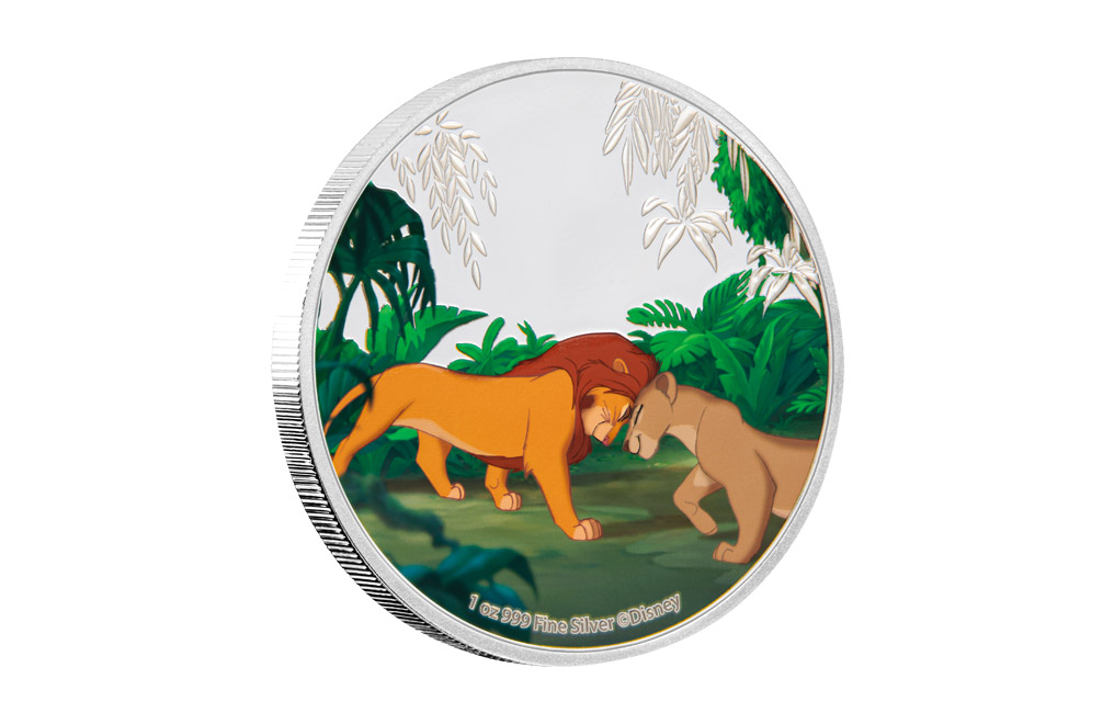 Buy 4 x 1 oz Silver Coin Set .999 - Disney - The Lion King, image 4