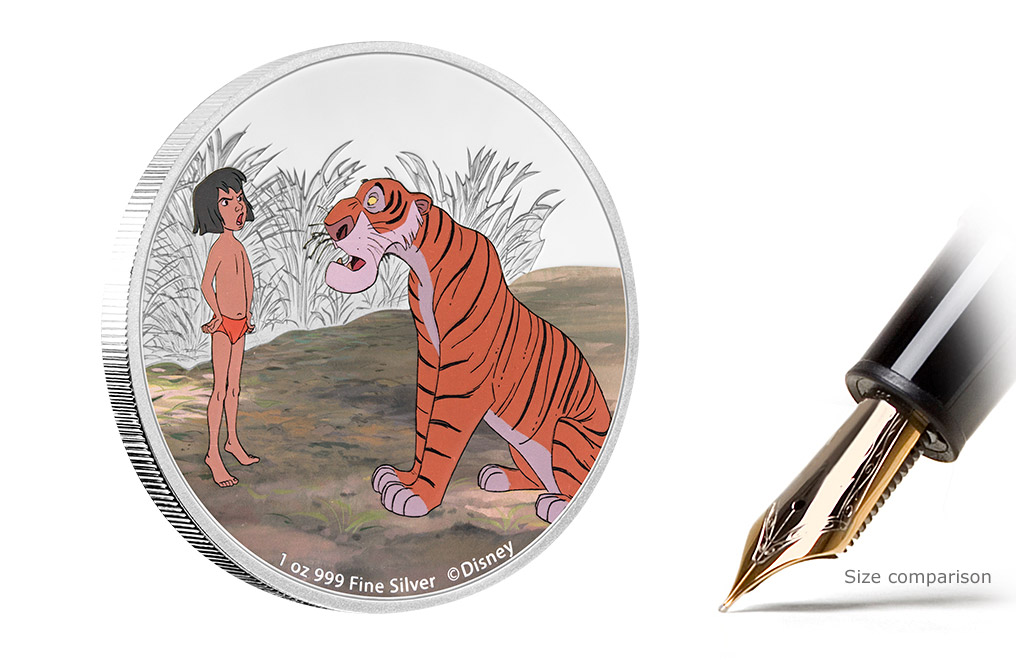 Buy 4 x 1 oz Silver Coin Set - The Jungle Book 50th Anniversary, image 1
