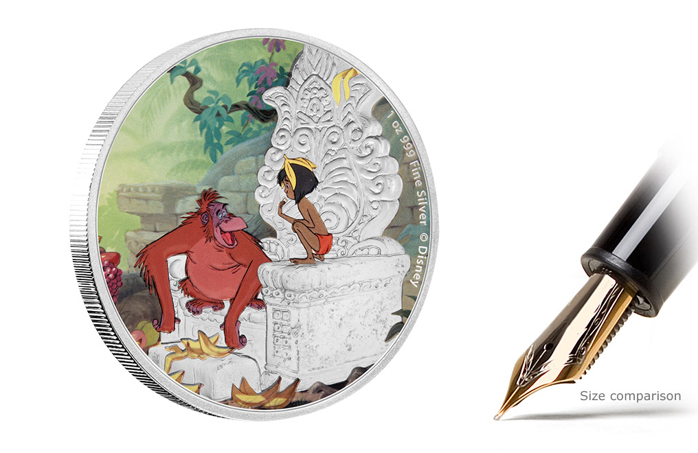 Buy 4 x 1 oz Silver Coin Set - The Jungle Book 50th Anniversary, image 2