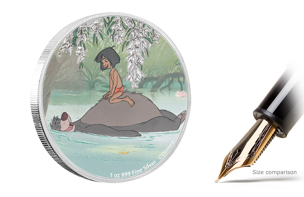 Buy 4 x 1 oz Silver Coin Set - The Jungle Book 50th Anniversary, image 3