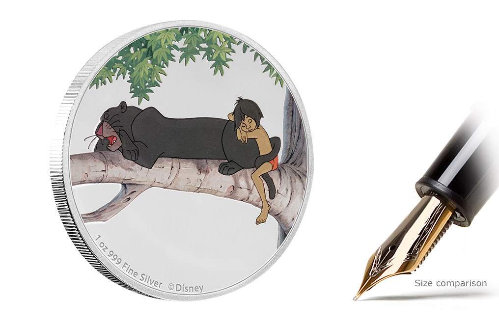 Buy 4 x 1 oz Silver Coin Set - The Jungle Book 50th Anniversary, image 4