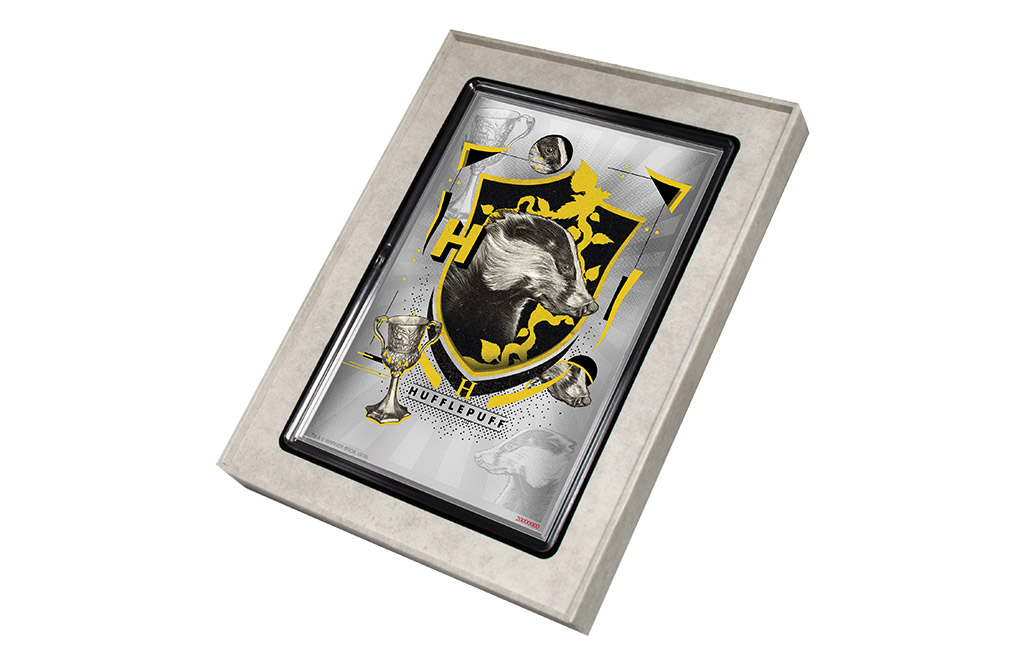 Buy 5 g Silver Coin Note .999 - Harry Potter - Hufflepuff, image 3