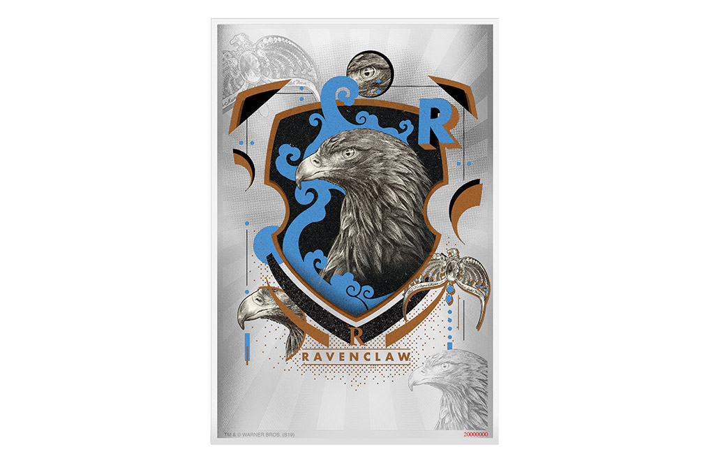 Buy 5 g Silver Coin Note .999 - Harry Potter -Ravenclaw, image 0