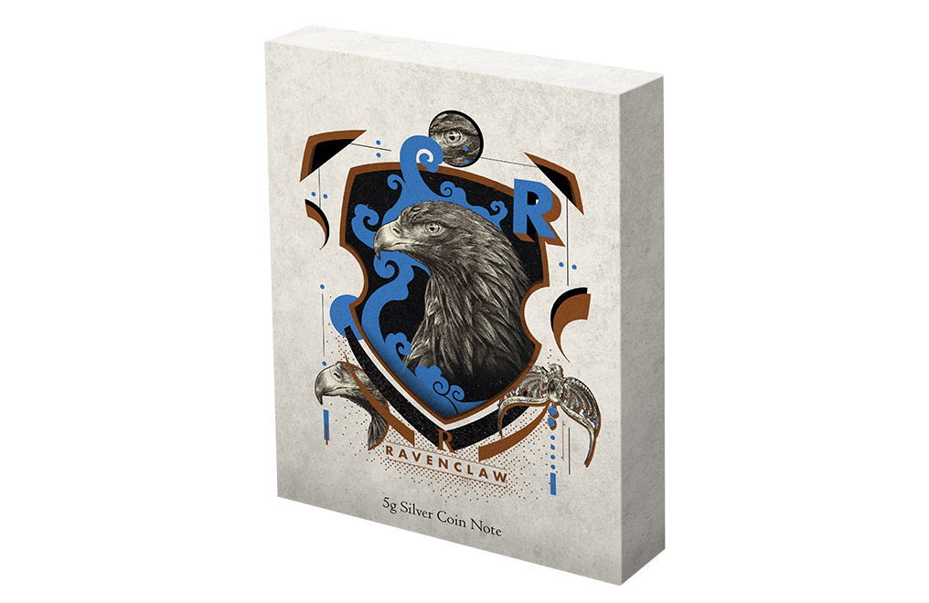 Buy 5 g Silver Coin Note .999 - Harry Potter -Ravenclaw, image 4