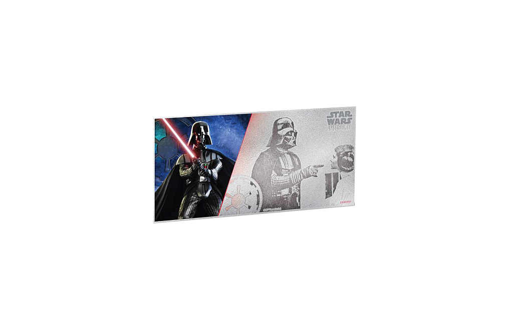 Buy 5 g Silver Coin Note .999 - Star Wars - Darth Vader, image 0