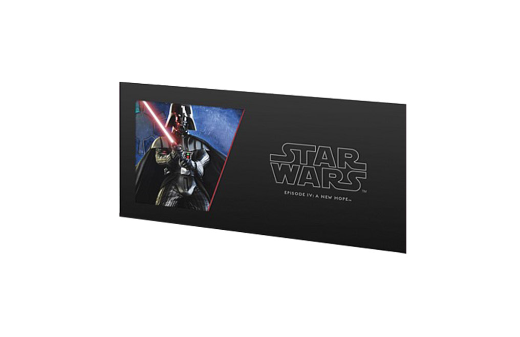 Buy 5 g Silver Coin Note .999 - Star Wars - Darth Vader, image 2