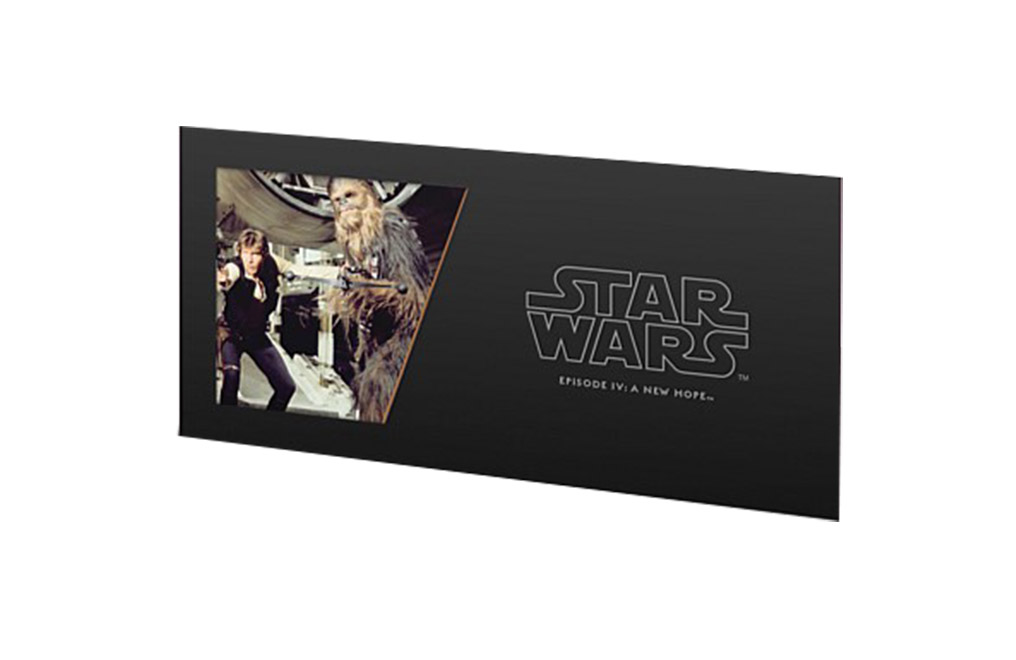 Buy 5 g Silver Coin Note .999 -Star Wars- Han Solo and Chewbacca, image 2