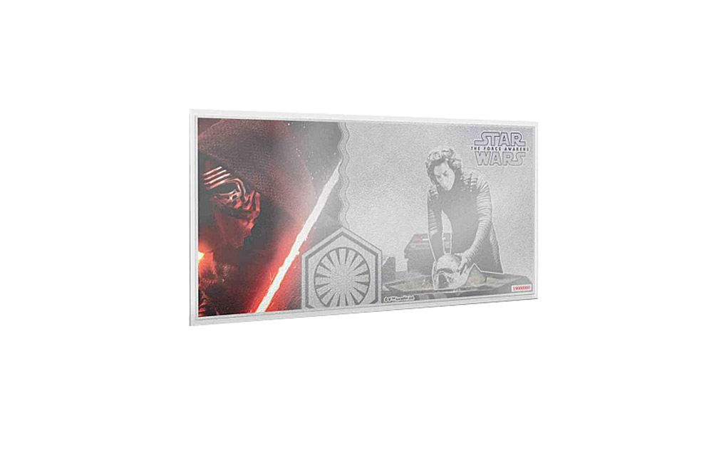 Buy 5 g Silver Coin Note .999 - Star Wars-Kylo Ren, image 0