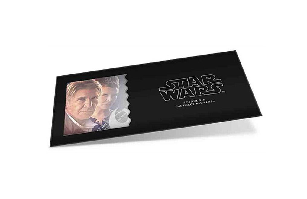 Buy 5 g Silver Coin Note .999- Star Wars- Leia Organa & Han Solo, image 2