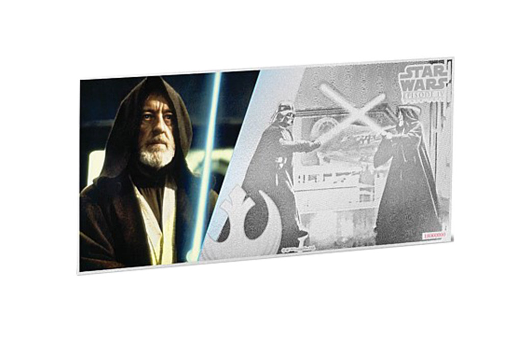 Buy 5 g Silver Coin Note .999 - Star Wars - Obi-Wan Kenobi, image 0