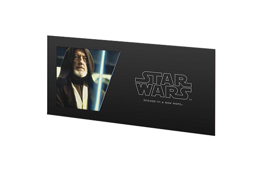 Buy 5 g Silver Coin Note .999 - Star Wars - Obi-Wan Kenobi, image 2