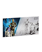 5 g Silver Coin Note .999 - Star Wars - R2-D2 & C-3PO