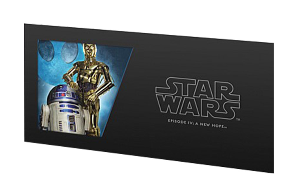 Buy 5 g Silver Coin Note .999 - Star Wars - R2-D2 & C-3PO, image 2