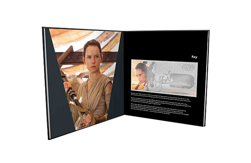 Buy 5 g Silver Coin Note .999-Star Wars- The Force Awakens - Rey, image 2