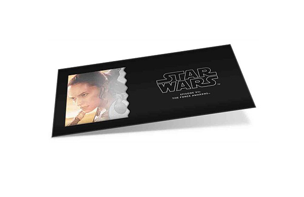 Buy 5 g Silver Coin Note .999-Star Wars- The Force Awakens - Rey, image 3