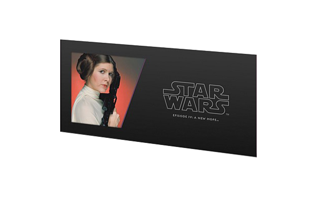 Buy 5 g Silver Coin Note .999 - Star Wars - Princess Leia, image 2