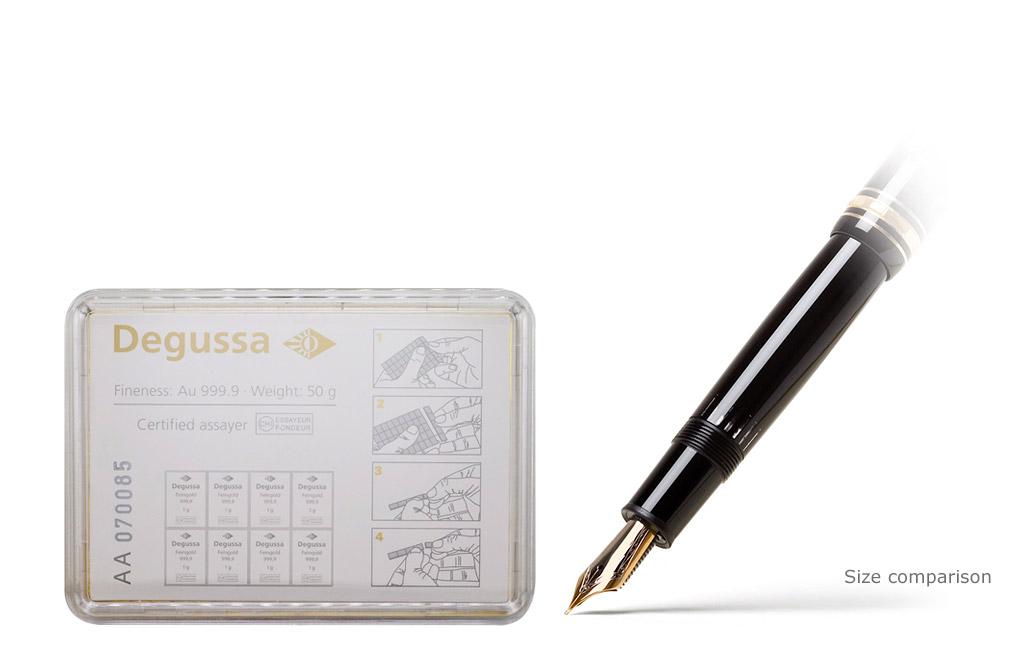 buy gold degussa combibar 50 x 1 gram buy gold bars kitco. Black Bedroom Furniture Sets. Home Design Ideas