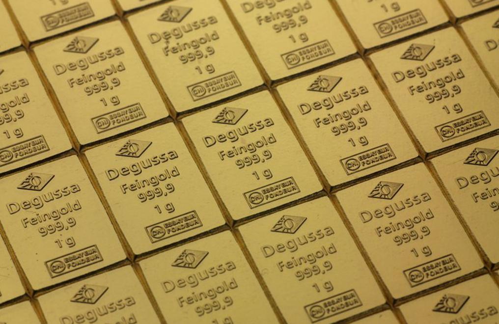 50 X 1 Gram Gold Degussa Combibars Image 3