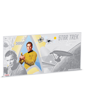 5 g Silver Coin Note .999 - Star Trek - Captain Kirk