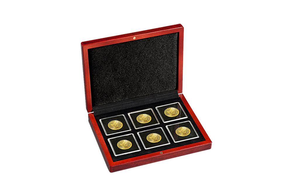Buy 6 x QUADRUM Capsule VOLTERRA Coin Box, image 0