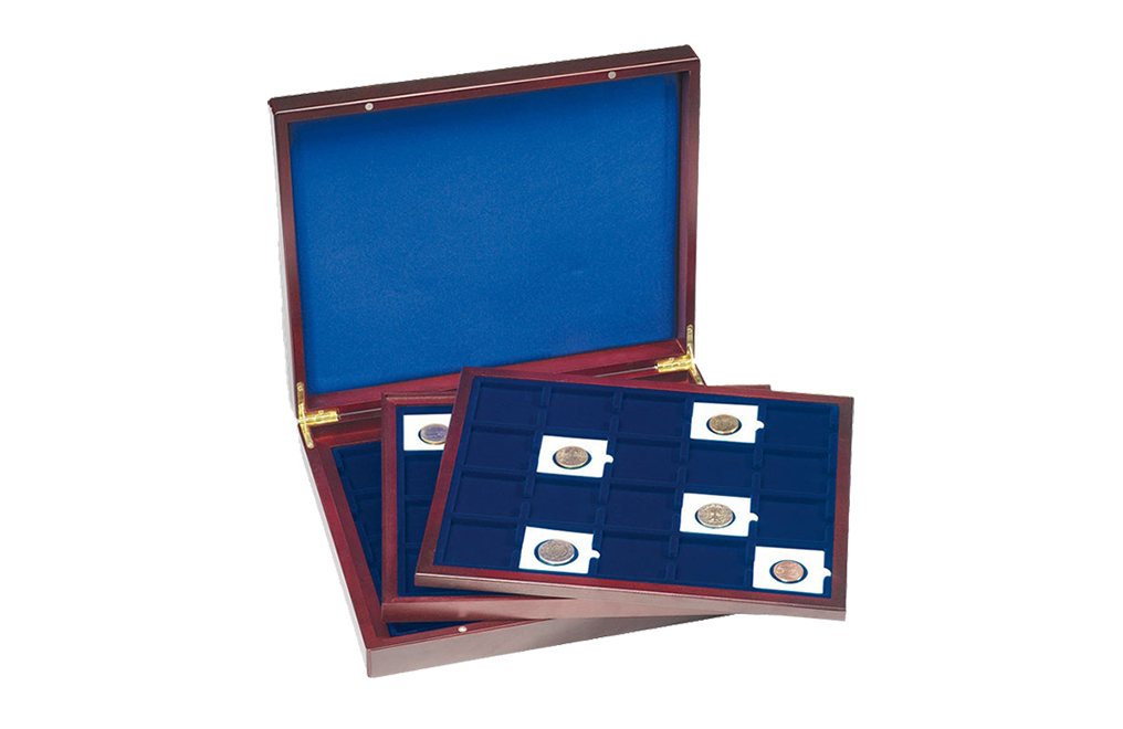 Buy 60x QUADRUM Capsule VOLTERRA TRIO Coin Box, image 0