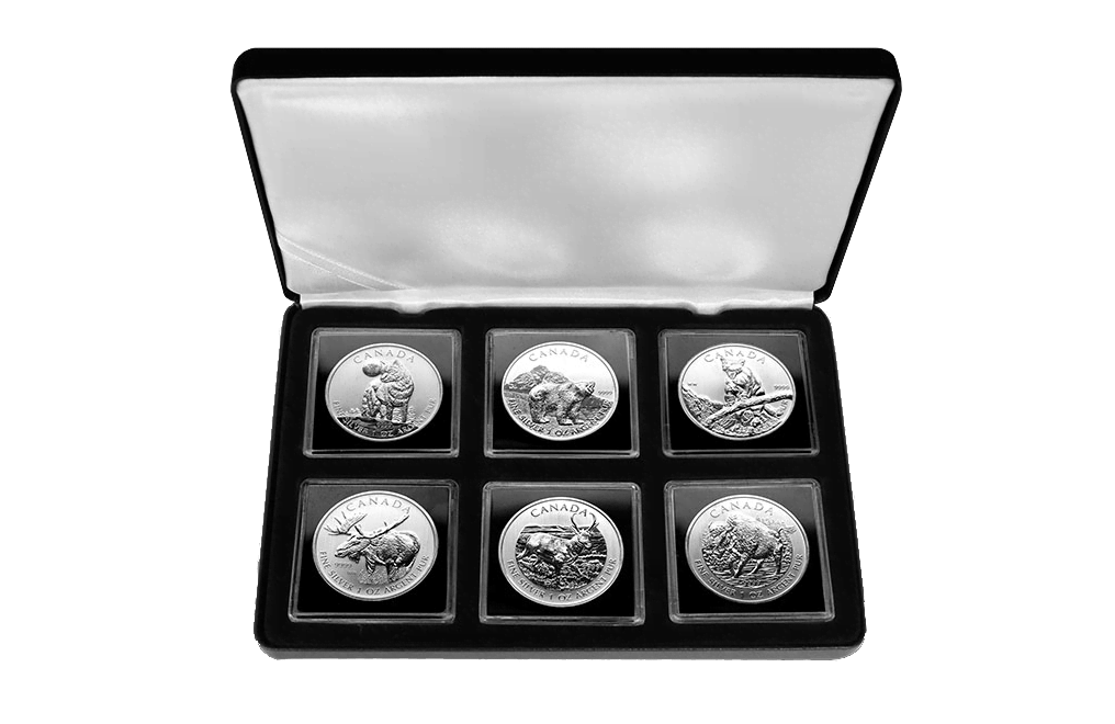 Buy Silver RCM Wildlife Series Coins (all 6), image 0
