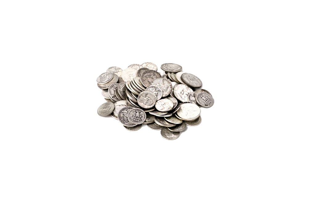 Buy 90 Silver Coins 100 Face Value Old Silver Coins