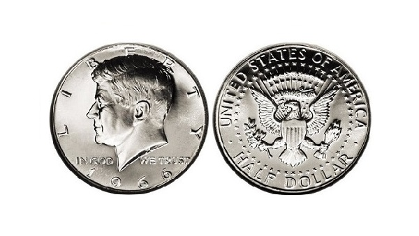Sell Silver Kennedy Half Dollar Coins (1965-1970), image 0