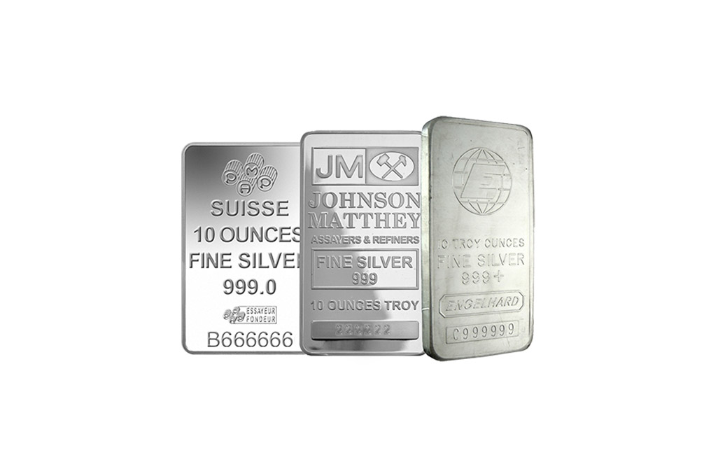 10 oz Silver Bar 0.999, image 0