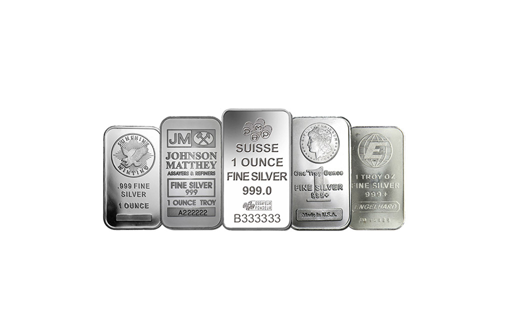 Sell 1 oz Silver Bars, image 0