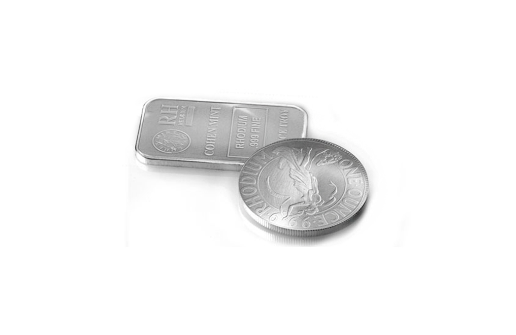 0.9995+ Pure Rhodium Bar or Coin, image 0