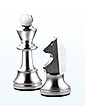Sterling Silver Chess Pieces