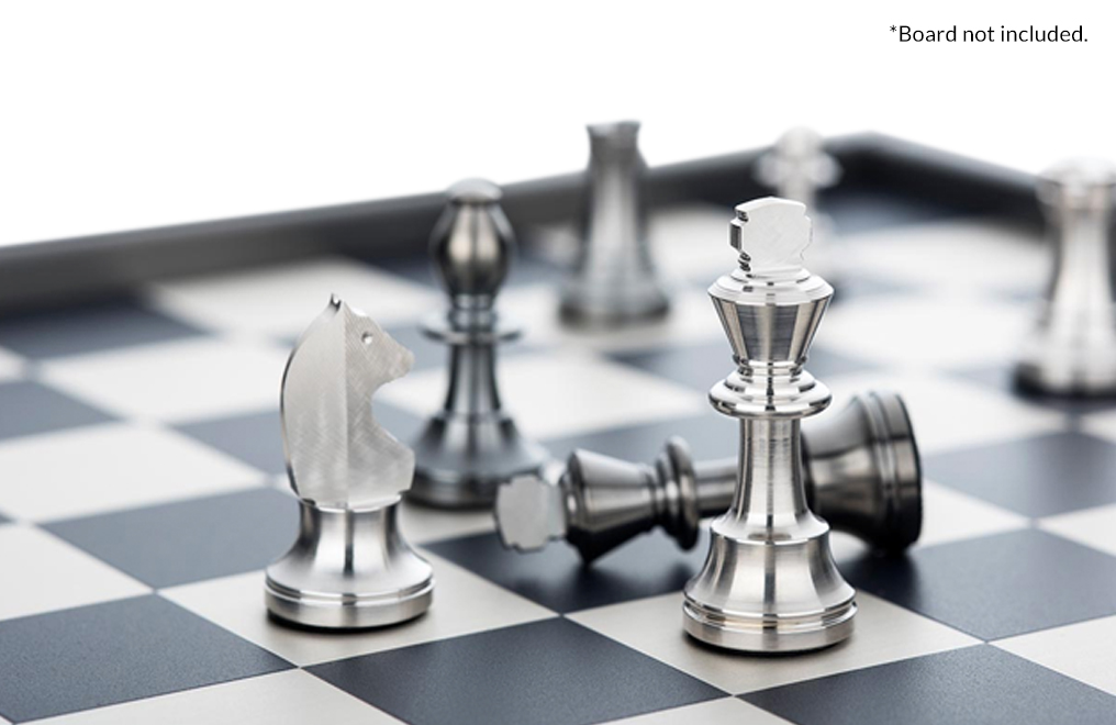 Buy Silver Chess Set, image 2