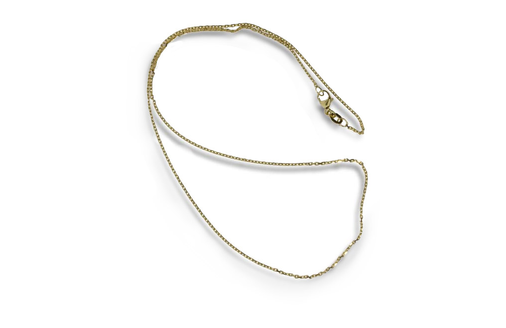 14 K Gold Chain 15.7 inches, image 0