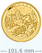 Kilo Gold Coin-The Battle of Queenston Heights .9999