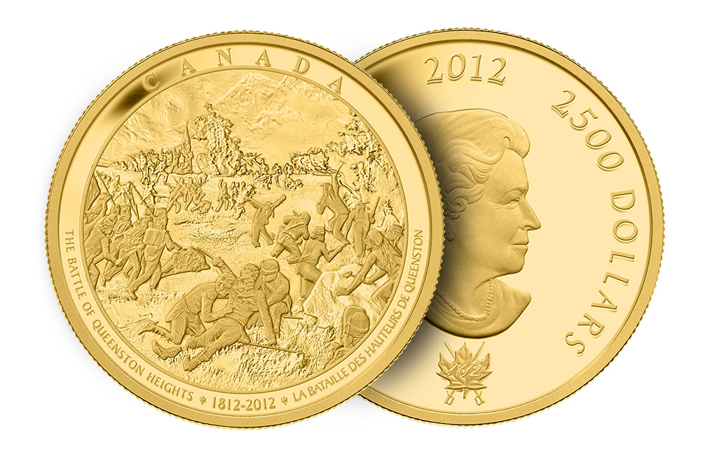 Buy Kilo Gold Coin-The Battle of Queenston Heights .9999, image 2