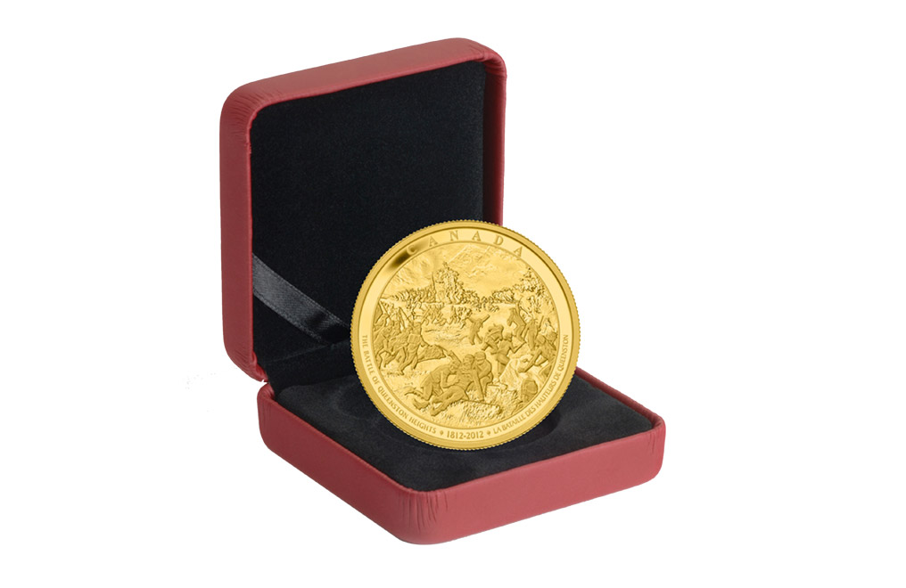 Buy Kilo Gold Coin-The Battle of Queenston Heights .9999, image 3