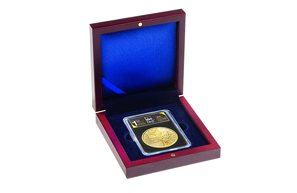 Buy MintFirst™ VOLTERRA Coin Box, image 0