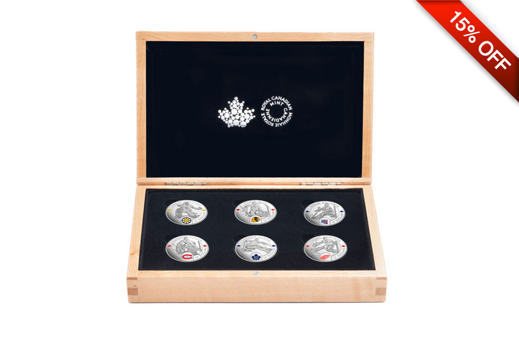 Buy NHL Silver Coin Set: Famous Hockey Goalies .9999, image 0