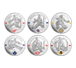 Buy NHL Silver Coin Set: Famous Hockey Goalies .9999, image 1