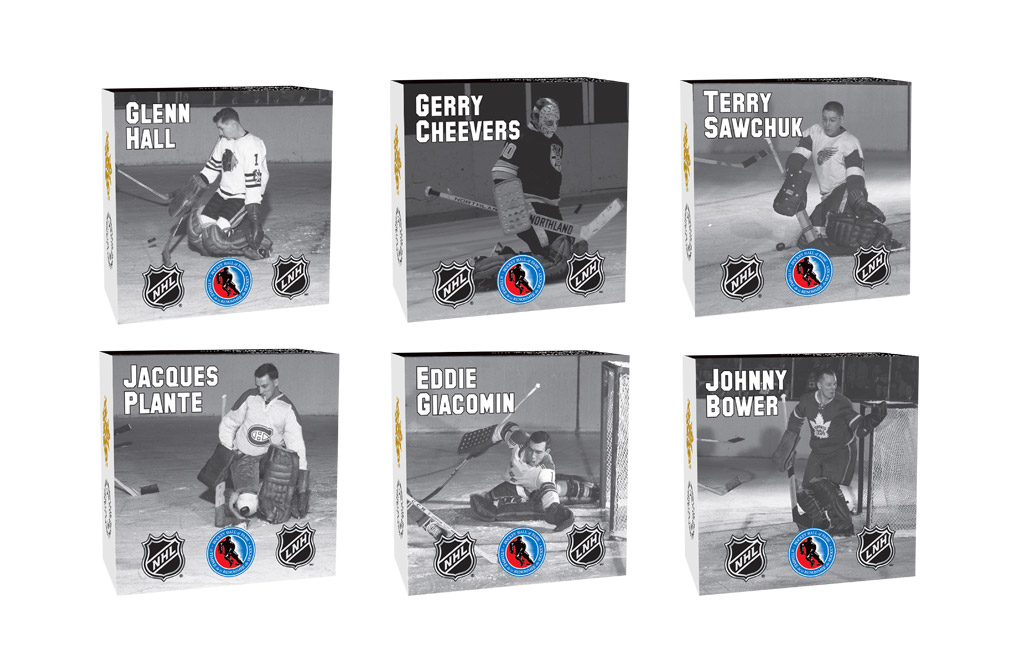 Buy NHL Silver Coin Set: Famous Hockey Goalies .9999, image 2