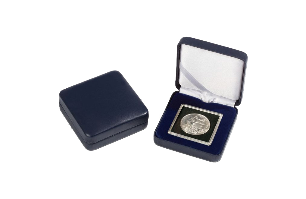 Buy Single QUADRUM Capsule and NOBILE Blue Coin Box, image 0