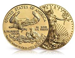 2019 1 oz American Silver Eagle /& 2019 1//10 oz American Gold Eagle Bullion Coins